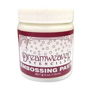 Dreamweaver WHITE Large Embossing Paste 8oz DEPL zoom image