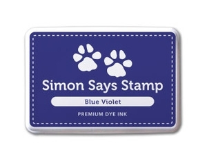 Simon Says Stamp Premium Dye Ink Pad BLUE VIOLET ink013 zoom image