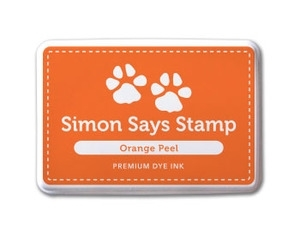 Simon Says Stamp Premium Dye Ink Pad ORANGE PEEL ink005 Preview Image