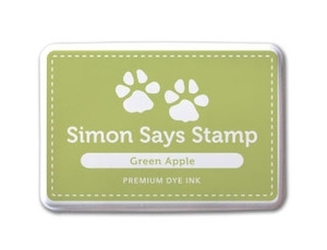 Simon Says Stamp Premium Dye Ink Pad GREEN APPLE ink006 zoom image