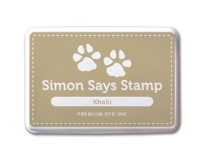 Simon Says Stamp Premium Dye Ink Pad KHAKI ink014 Preview Image