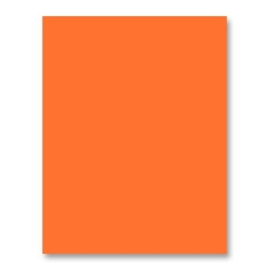 Simon Says Stamp Card Stock 100# ORANGE PEEL OP5