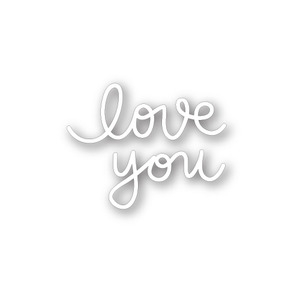Simon Says Stamp SMALL LOVE YOU Wafer Die SSSD111324 Preview Image