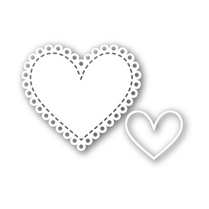 Simon Says Stamp SMALL HEART DOILY Wafer Dies SSSD111326 zoom image