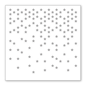 Simon Says Stamp Stencil FALLING STARS SSST121332