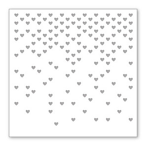 Simon Says Stamp Stencil FALLING HEARTS SSST121333 zoom image