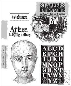 Stampers Anonymous Cling Rubber Stamps CLASSICS #11 SCF011
