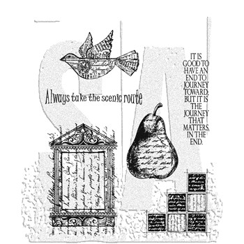 Stampers Anonymous Cling Rubber Stamps CLASSICS #16 SCF016
