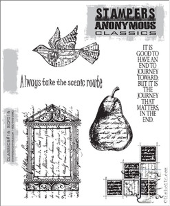 Stampers Anonymous Cling Rubber Stamps CLASSICS #16 SCF016 zoom image
