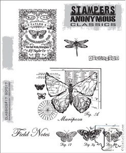 Stampers Anonymous Cling Rubber Stamps CLASSICS #17 SCF017 zoom image