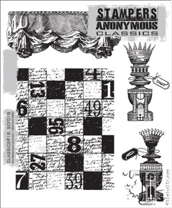 Stampers Anonymous Cling Rubber Stamps CLASSICS #18 SCF018 Preview Image