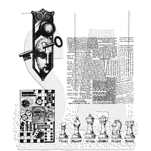 Stampers Anonymous Cling Rubber Stamps CLASSICS #20 SCF020 Preview Image