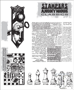 Stampers Anonymous Cling Rubber Stamps CLASSICS #20 SCF020