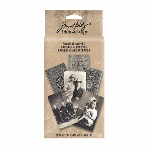 Tim Holtz Idea-ology FOUND RELATIVES Portraits TH93121* Preview Image