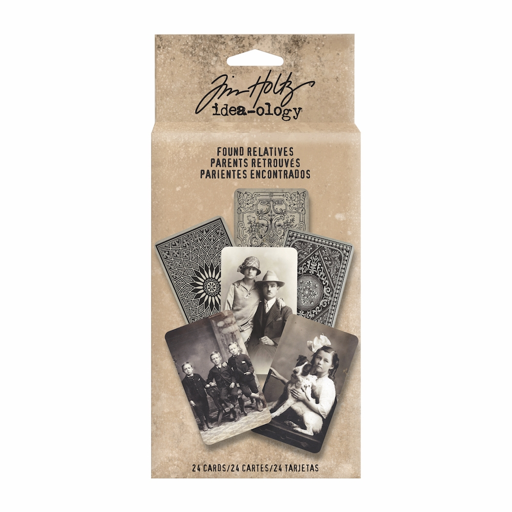Tim Holtz Idea-ology FOUND RELATIVES Portraits TH93121* zoom image
