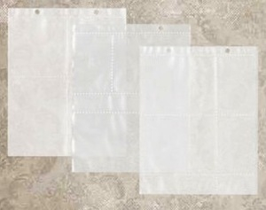 Tim Holtz Idea-ology LARGE Assorted Page Pockets TH93140 Preview Image