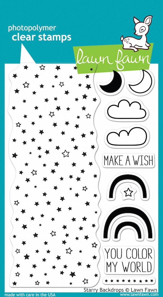 Lawn Fawn STARRY BACKDROPS Clear Stamps LF664 zoom image