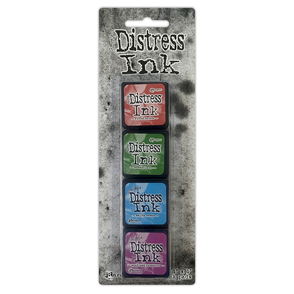 Tim Holtz Distress Ink Pad MINI KIT 2 TDPK40323 zoom image