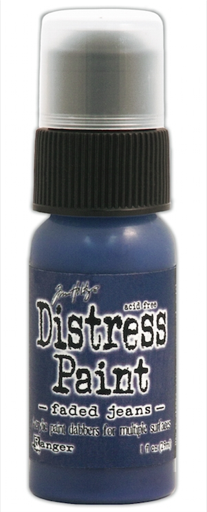 Tim Holtz Distress Paint FADED JEANS Ranger TDD38825 zoom image