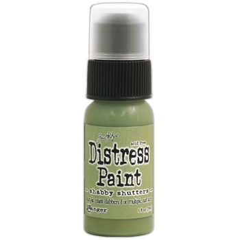 Tim Holtz Distress Paint SHABBY SHUTTERS Ranger TDD38856