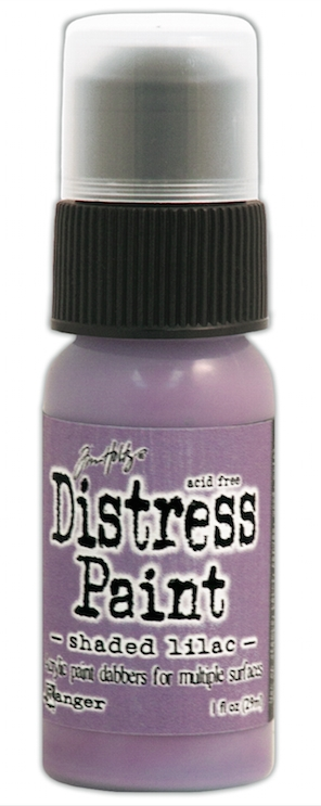 Tim Holtz Distress Paint SHADED LILAC Ranger TDD38863 zoom image