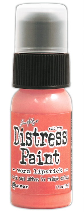 Tim Holtz Distress Paint WORN LIPSTICK Ranger TDD38900 zoom image