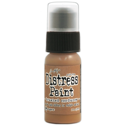Tim Holtz Distress Paint BRUSHED CORDUROY Ranger TDD39709 Preview Image