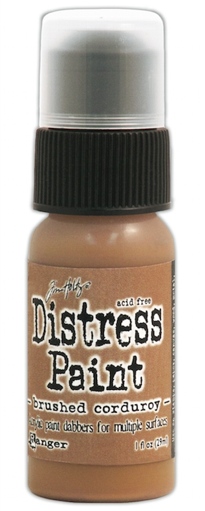 Tim Holtz Distress Paint BRUSHED CORDUROY Ranger TDD39709 zoom image