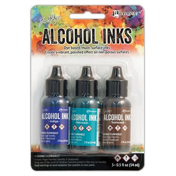 Tim Holtz Alcohol Ink Set MARINER Ranger TAK40866