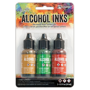 Tim Holtz Alcohol Ink Set CONSERVATORY Ranger TAK40859