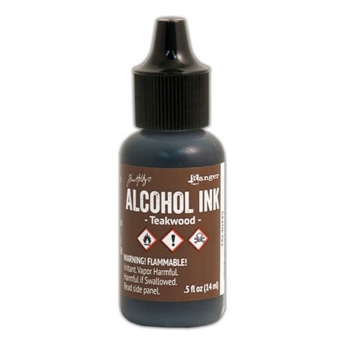 Tim Holtz Alcohol Ink TEAKWOOD Ranger TAL40743 Preview Image