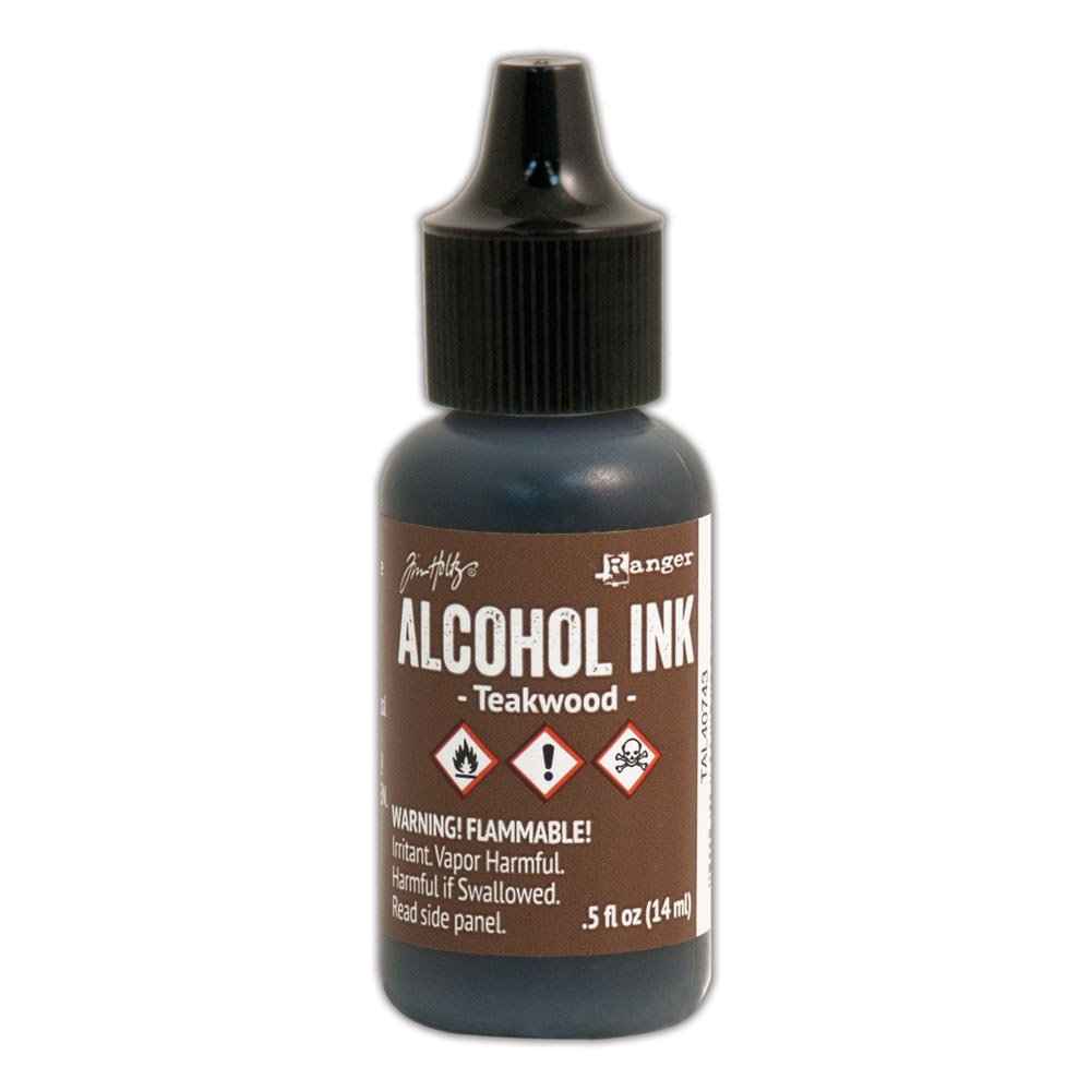 Tim Holtz Alcohol Ink TEAKWOOD Ranger TAL40743 zoom image