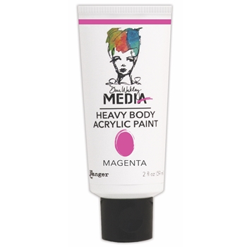 Dina Wakley Ranger MAGENTA Media Heavy Body Acrylic Paints MDP41115