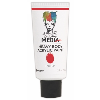 Dina Wakley Ranger RUBY Media Heavy Body Acrylic Paints MDP41139