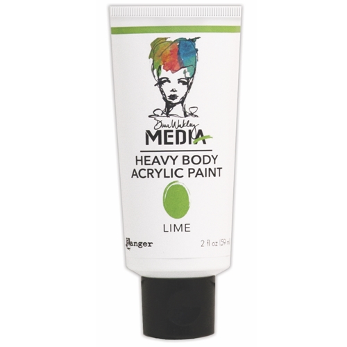 Dina Wakley Ranger LIME Media Heavy Body Acrylic Paints MDP41108 Preview Image