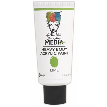 Dina Wakley Ranger LIME Media Heavy Body Acrylic Paint MDP41108
