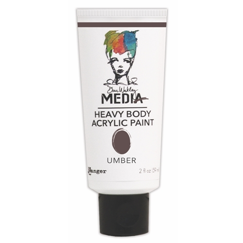 Dina Wakley Ranger UMBER Media Heavy Body Acrylic Paint MDP41177 Preview Image