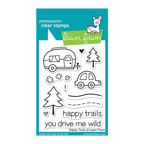 Lawn Fawn HAPPY TRAILS Clear Stamps LF601 Preview Image