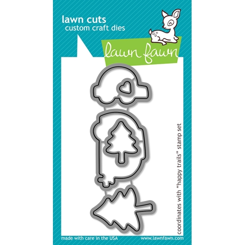 Lawn Fawn HAPPY TRAILS Lawn Cuts Dies LF609 Preview Image