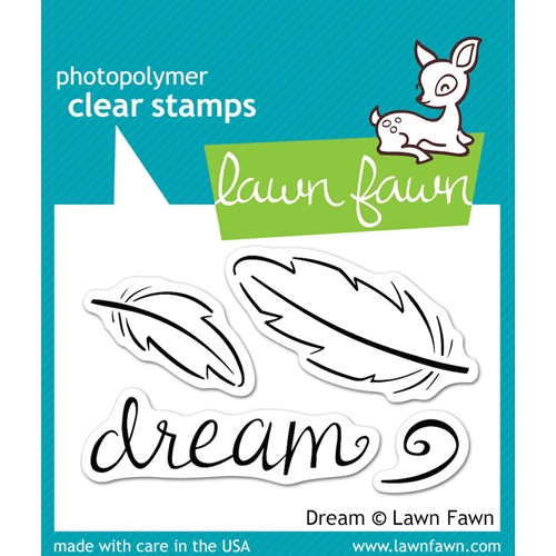 Lawn Fawn DREAM Clear Stamps LF656 Preview Image