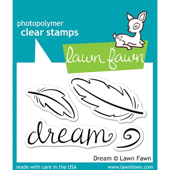 Lawn Fawn DREAM Clear Stamps LF656
