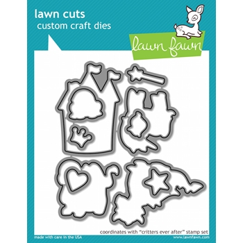 Lawn Fawn CRITTERS EVER AFTER Lawn Cuts Dies LF590