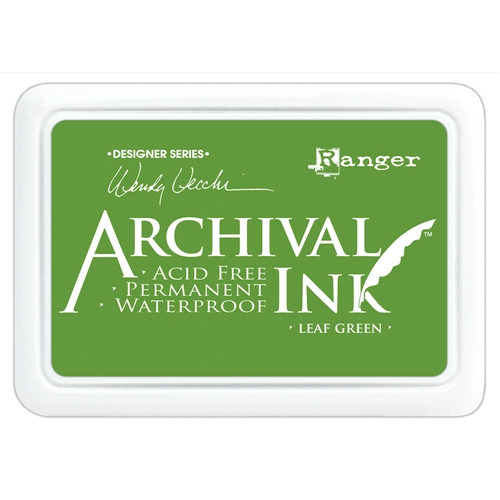 Ranger Wendy Vecchi Archival LEAF GREEN Ink Pad AID41436 Preview Image