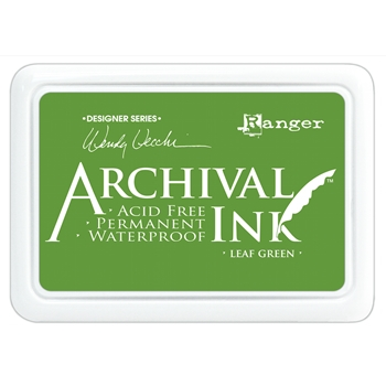 Ranger Wendy Vecchi Archival LEAF GREEN Ink Pad AID41436