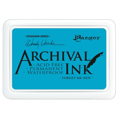Ranger Wendy Vecchi Archival FORGET ME NOT Ink Pad AID41412* Preview Image
