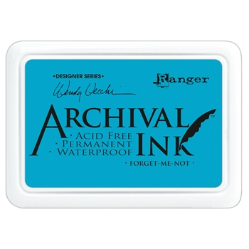 Ranger Wendy Vecchi Archival FORGET ME NOT Ink Pad AID41412*