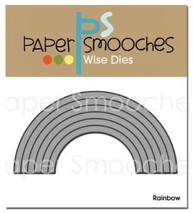 Paper Smooches RAINBOW Wise Die Kim Hughes zoom image