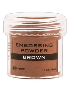 Ranger Embossing Powder BROWN EPJ36555