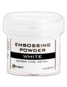 Ranger Embossing Powder SUPER FINE WHITE EPJ36678 Preview Image