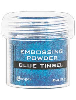 Ranger Embossing Powder BLUE Tinsel EPJ41030 zoom image
